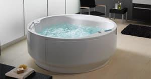 Круглые с гидромассажем ванны