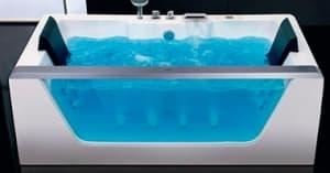 Прямоугольные с гидромассажем ванны
