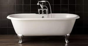 Отдельно стоящие чугунные ванны