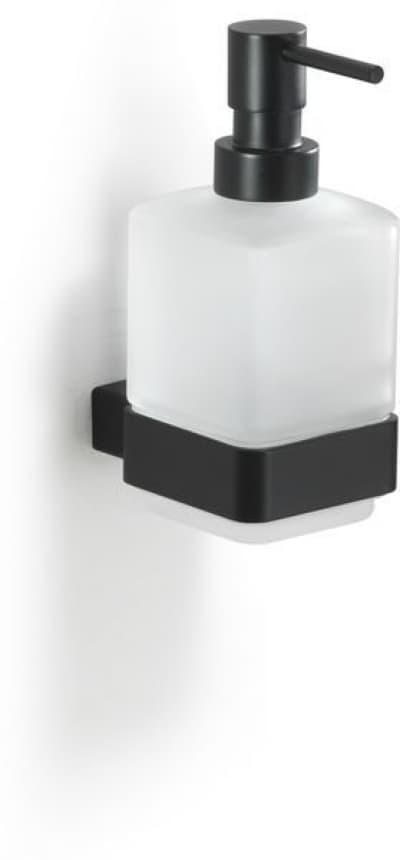 Gedy G-Lounge, настенный стеклянный дозатор, цвет черный матовый 5481(14)