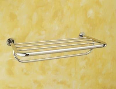 Sanibano, полка для полотенец скругленной формы, цвет хром H202/CR