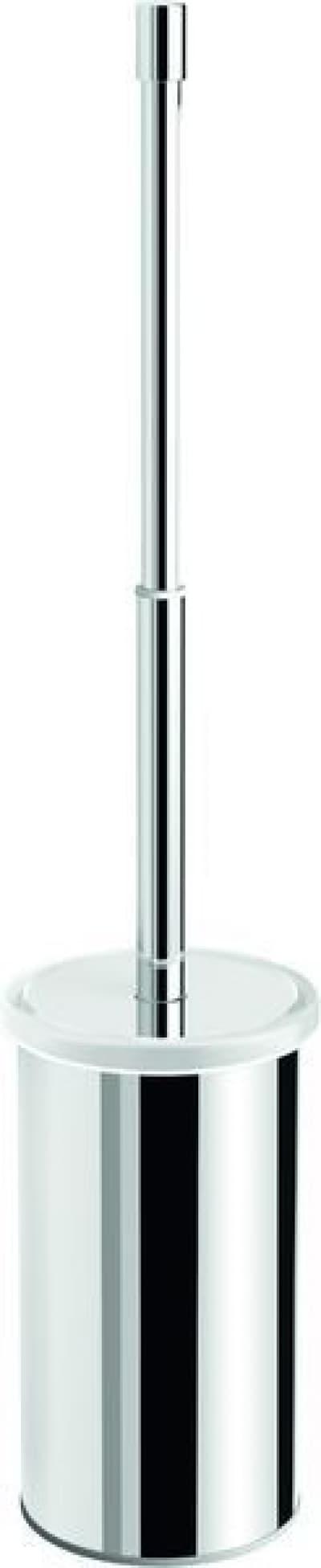 Gedy G-Canarie, напольный металлический ёршик для унитаза с телескопической ручкой, цвет хром A233(13)