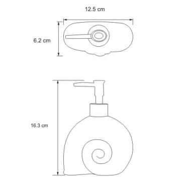 K-2199 Дозатор для жидкого мыла WasserKRAFT