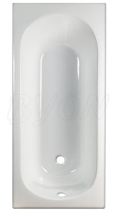 Ванна чугунная BYON 13 - 1700x700x420 V0000220 170x70 прямоугольная
