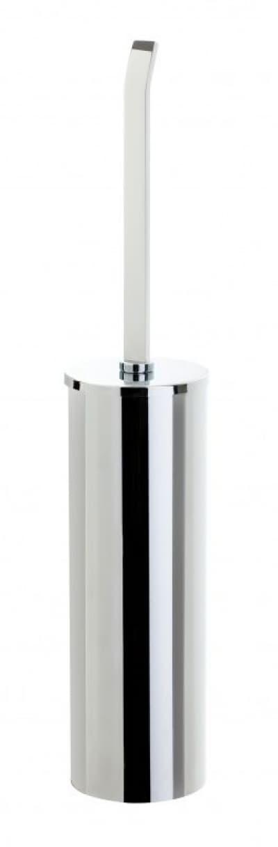 Stil Haus Mizar, напольный металлический ёршик для унитаза, цвет хром MZ039(08)