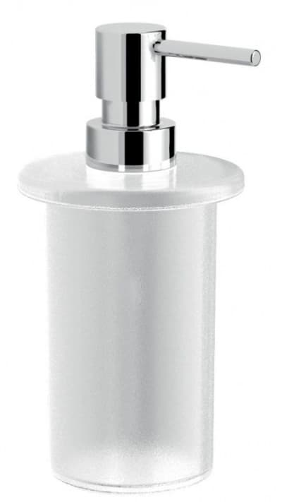 Gedy G-Azzorre, стеклянный дозатор для полотенцедержателя А147, цвет хром A155(13)