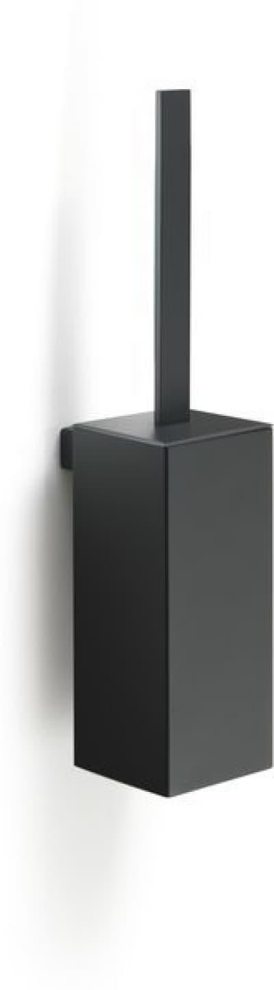 Gedy G-Lounge, настенный металлический ёршик для унитаза, цвет черный матовый 5433/03(14)