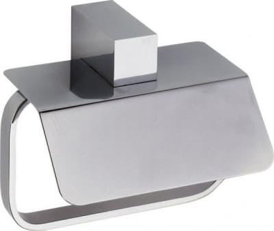 Sanibano Elegance, бумагодержатель с крышкой, цвет черный матовый H8700/06MB
