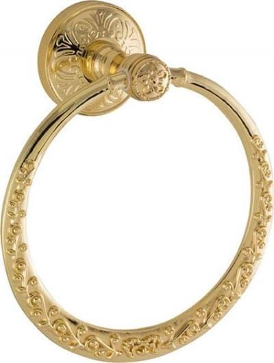 Sanibano Nilo, полотенцедержатель - кольцо Nilo, цвет золото H6600/04GOLD