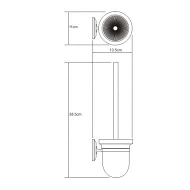 K-6227 Щетка для унитаза WasserKRAFT