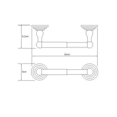 К-7022 Держатель туалетной бумаги WasserKRAFT