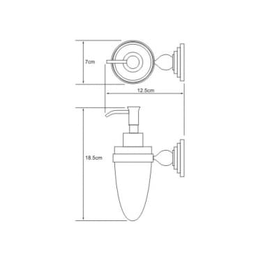 К-7099 Дозатор для жидкого мыла WasserKRAFT