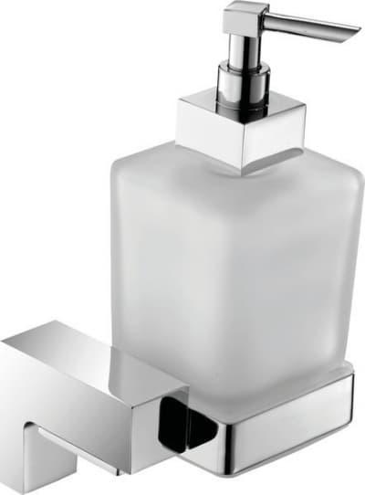 Sanibano Elegance, настенный стеклянный дозатор, цвет черный матовый H8700/11MB