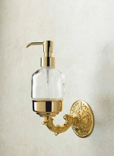Stil Haus Noto, настенный дозатор, цвет золото NT30(16)