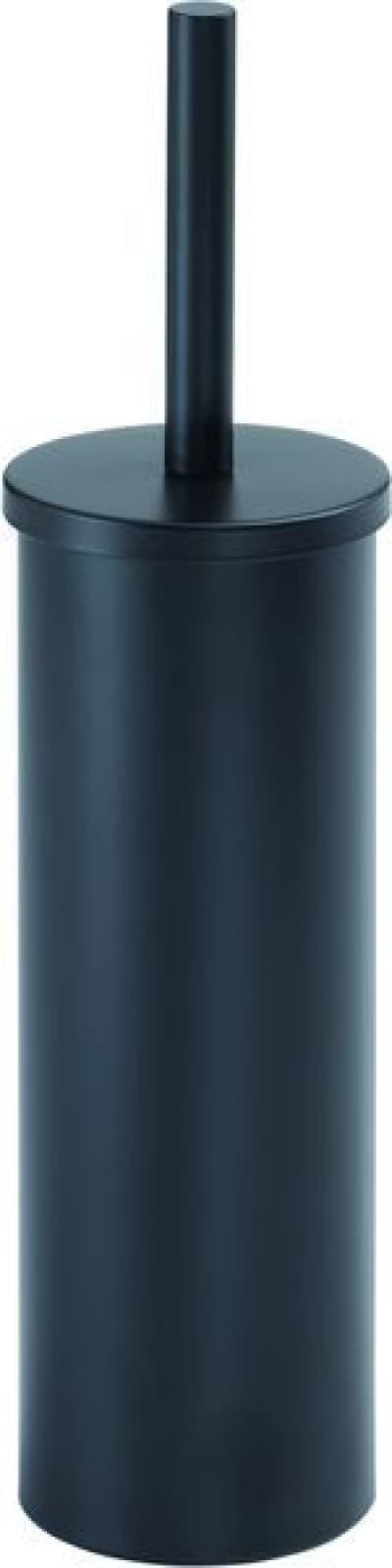 Gedy G-Flip, напольный металлический ёршик для унитаза, цвет черный матовый 5233(14)