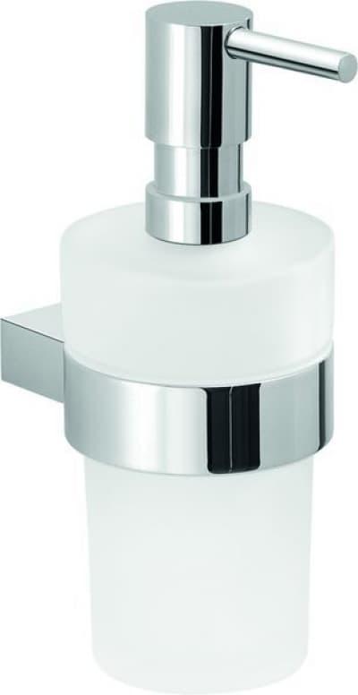 Gedy G-Canarie, настенный стеклянный дозатор, цвет хром A281(13)