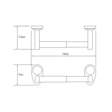 K-9222 Держатель туалетной бумаги WasserKRAFT