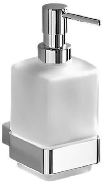 Gedy G-Lounge, настенный стеклянный дозатор, цвет хром 5481(13)