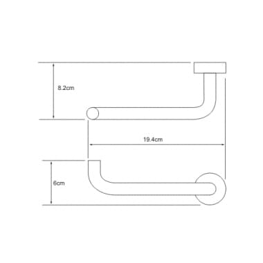 K-9496 Держатель туалетной бумаги WasserKRAFT