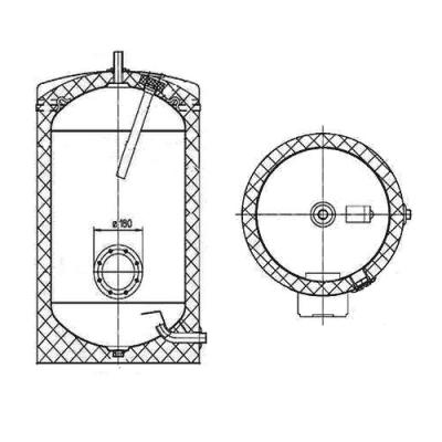 Водонагреватель накопительный Atlantic FS 500 литров 892217 электрический