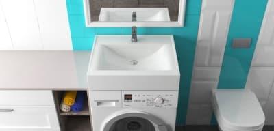 Раковина над стиральной машиной Bergg Шерри V3