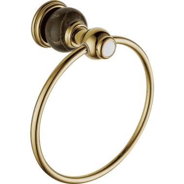 Полотенцедержатель-кольцо RADOMIR (BRONZE)