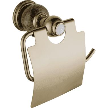Настенный держатель туалетной бумаги RADOMIR (BRONZE)