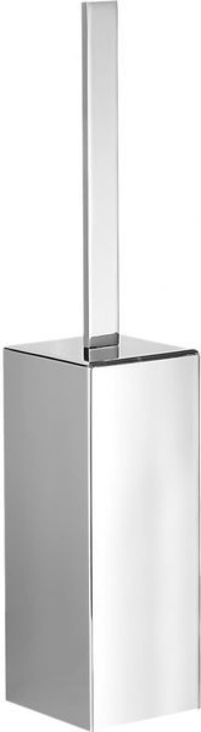 Gedy G-Lounge, напольный металлический ёршик для унитаза, цвет хром 5433(13)