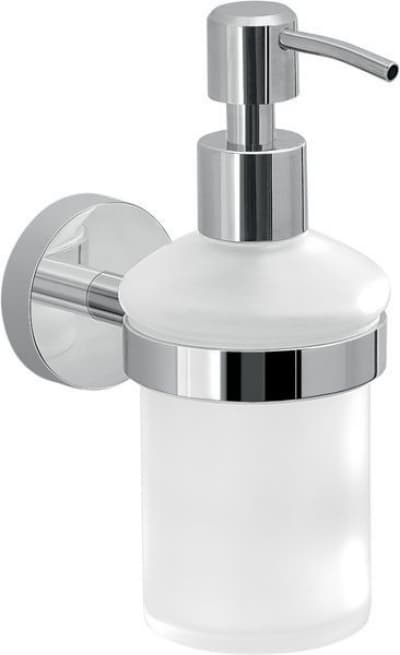 Gedy G-Eros, настенный стеклянный дозатор, цвет хром 2381(13)