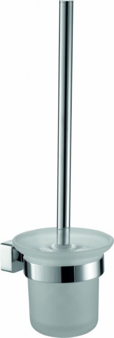 Sanibano Argos, настенный стеклянный ёршик для унитаза, цвет хром H2016/10CR