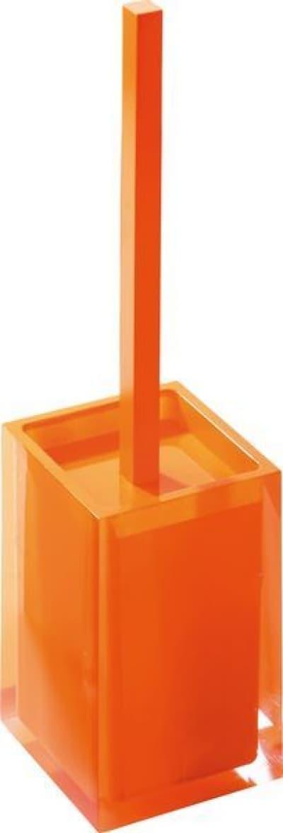 Gedy G-Rainbow, напольный ёршик для унитаза, цвет оранжевый RA33(67)