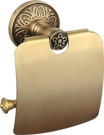 Sanibano Nilo, бумагодержатель с крышкой, цвет бронза H6600/06BR