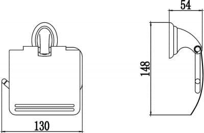 Бумагодержатель Savol S-003151