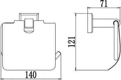 Бумагодержатель Savol S-009551