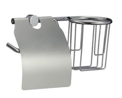 Держатель для туалетной бумаги и освежителя Savol P-04