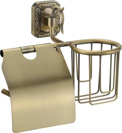 Держатель для туалетной бумаги и освежителя Savol S-L06451