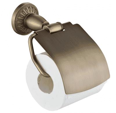 Держатель для туалетной бумаги с крышкой Savol S-006651С