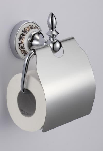 Держатель для туалетной бумаги с крышкой Savol S-06851A