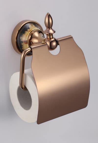 Держатель для туалетной бумаги с крышкой Savol S-BD6851