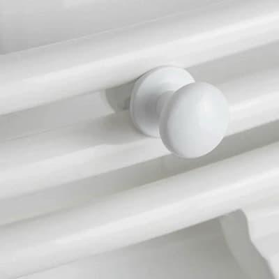 Держатель полотенец круглый крючок для Atlantic 2012 белый - 2 шт. 002228