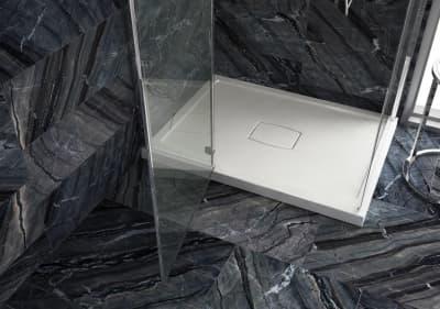 Душевой поддон из литого камня Salini PESARO 120x120 (Матовый) 120117M 1200x1200x68