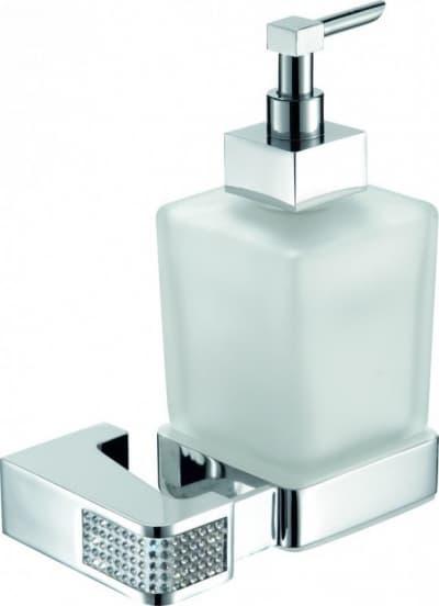 Sanibano Diamond, настенный стеклянный дозатор, цвет хром-кристаллы Swarovski crystal H9000/11CRС
