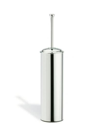 Stil Haus Smart, напольный металлический ёршик для унитаза, цвет хром - золото SM039(02)