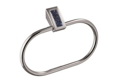 Sanibano Estrella, полотенцедержатель - кольцо, цвет хром-кристаллы Swarovski bermudа blue H9300/04BB