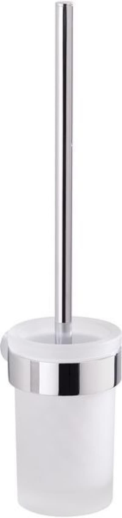 Gedy G-Pirenei, настенный стеклянный ёршик для унитаза, цвет хром PI33-03(13)