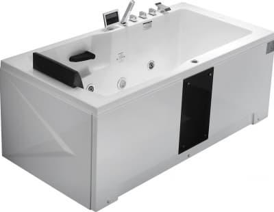 С гидромассажем акриловая ванна Gemy G9066 II K R 171 прямоугольная 171x86