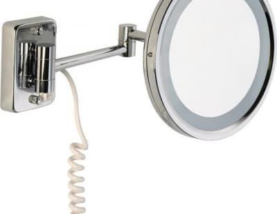 Sanibano, настенное круг. зеркало с 3-х кратным увелич. и LED подсвет. (с проводом и вилкой), цвет х H221/WITHLED
