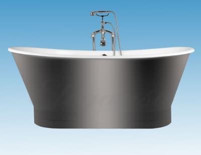 """Ванна чугунная ELEGANSA """"SABINE"""" POLISHED Н0000146 170x70 овальная"""