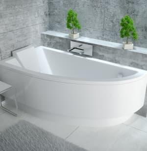 Акриловая ванна BESCO Praktika 140 L