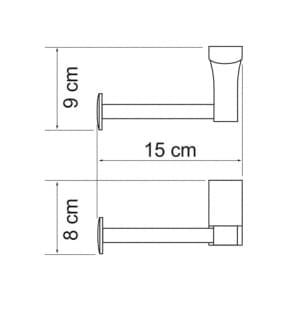 К-5296 Держатель туалетной бумаги WasserKRAFT